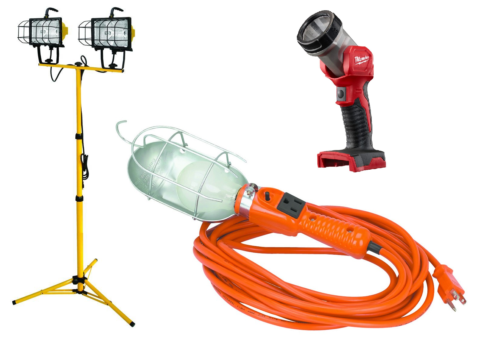 Work Lamps / Temporary Lighting / Flashlights