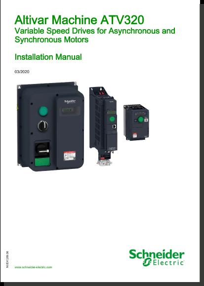 ATV320 Installation Manual